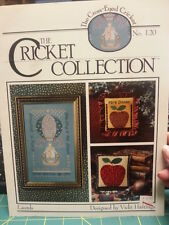 Cross Eyed Cricket - The Cricket Collection - Laurels - charted cross stitch