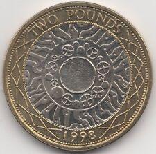 1998 Elizabeth II £2 Two Pounds | Pennies2Pounds (2)