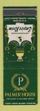 Matchbook Cover - Palmer House Hotel Chicago IL Empire Room