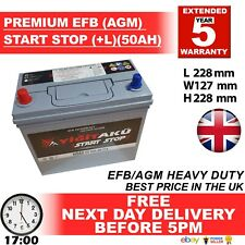 EFB(AGM) STOP START TOYOTA PRIUS 1.8 06/09-12/15 GS BATTERIES AUXILIARY BATTERY
