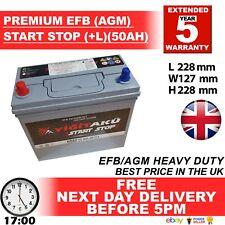 009 AGM Batería De Coche Para Lexus Prius 45Ah 325cca 3 años de garantía León AX S46B24R