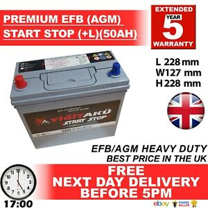 Lion eq. AGM Car Battery (Prius / Lexus Fit) - 3 Year Guarantee 5 YEAR 444770091