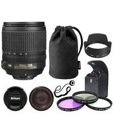 Nikon AF-S DX NIKKOR 18-105mm f/3.5-5.6G Lente + Deluxe ED VR Kit De Accesorios