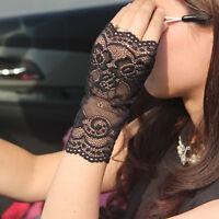 Gants moufles femmes dentelle solaire pratique beaux sexy jolie confortable mode