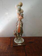 Giuseppe Armani Figurine #217 Hobo Tender Clown G. Armani