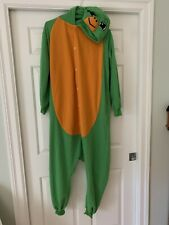 Turtle Onesie0 Adult Pajamas Costume Animal Cosplay Outfit Large for Men Women