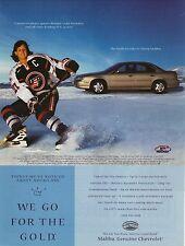 Cammi Granato--1999 Chevrolet Malibu Advertisement