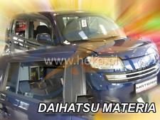 DAIHATSU MATERIA 5-doors 2006-onwards 4-pc wind deflectors HEKO Tinted