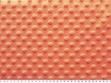 Minky 3 D Noppenflausch Wellnesss Fleece Lachs 155cm