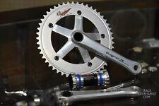 Sugino 75 DD 2 (Direct Drive) Track Crank + Chainring Set - Black / Silver - Zen