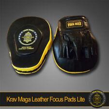 KRAV MAGA LITE LEATHER FOCUS PADS SUPER LIGHT - Improve Focus and Accuracy