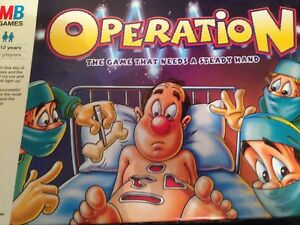 MB Operation Board Game SPARES PARTS Replacements Body Extra Playing Pieces