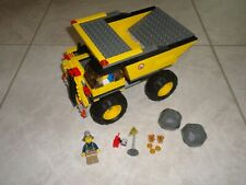 Original Lego 4202 Mining Truck 100% Complete w/ Instructions, Minifig & Decals