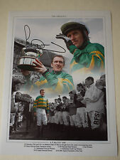 AP McCoy Signed 'The Greatest' Horse Racing 16x12 Montage - Private Signing