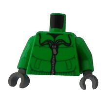 LEGO Torse Buste Vert Clair Blouson d'HIVER / mains gris foncé Neuf Partie
