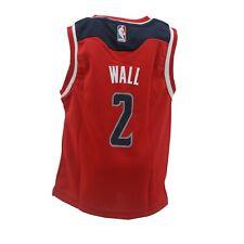 Washington Wizards Official NBA Adidas Youth Kids Size John Wall Jersey New Tags