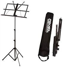 PROEL RSM300 - Leggio Da Orchestra (leggero, pieghevole, regolabile) + Borsa Per