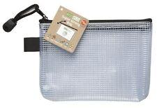 Eco-eco mini 95% recyclé super solide sac clair maille tuff étui + zip