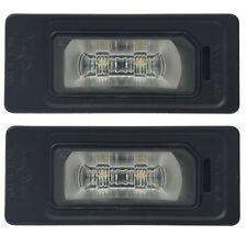2 ECLAIRAGE PLAQUE LED AUDI A4 8K B8 BERLINE AVANT 12/2011 A 12/2015 ORIGIN