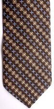 "Par Excellence Men's Vintage Poly Tie 54"" X 3"" Multi-Color Geometric Striped"