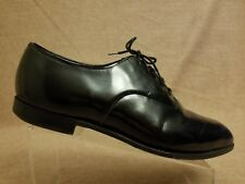 d4b32b41d29 Brooks Brothers Men s Black Leather Oxford Lace Up Tuxedo Dress Shoes Size  12 D