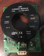 LEM LC1000-S/SP2 CURRENT MODULE 115VAC 1:4000 RATIO