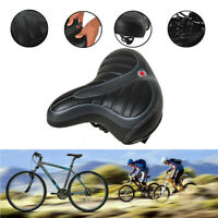 New Wide Big Bum Bicycle Gel Cruiser Extra Comfort Sporty Soft Pad Saddle Seat