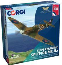 """Nueva versión 1:72 escala Supermarine Spitfire Mk Corgi. IIA """"Modelo Diecast RAF 100"""""""