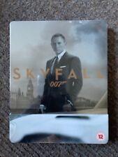 007 Skyfall, UK Blu-ray Steelbook, NEW & SEALED