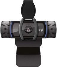 Logitech C920S HD Pro Webcam with Privacy Shutter 1080p Widescreen Video