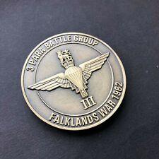 3 Para - Mount Longdon - Falklands - Parachute Regiment - Challenge Coin