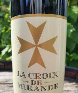 6 x 0,75l  La Croix de Miranda 12,5% Rotwein aus SPANIEN  🇪🇸