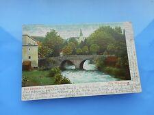 AK Bad Landeck in Schlesien Villa Weberbauer 1908 gelaufen koloriert Postkarte
