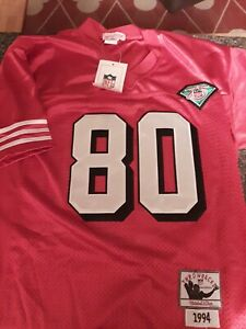 AUTHENTIC Mitchell & Ness 1989 49ers Jerry Rice  Throwback Jersey 48 Rare New