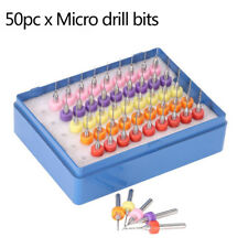 50pcs/set 0.5-0.9mm Tungsten Micro Drill Bit Engraving Tool for PCB Circuit Boar