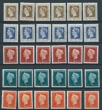 1947TG Nederland Koningin Juliana 484-488 postfris mooie zegels! zie foto!