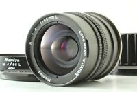 【TOP MINT + Hood】 Mamiya N 65mm F/4 L MF Lens For New Mamiya 7 From JAPAN #1563