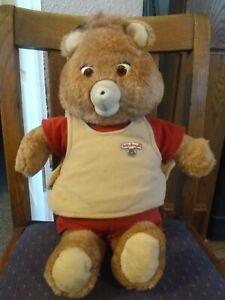 Vintage 1985 Teddy Ruxpin Bear