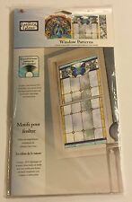 """Nature's Calm"" #16386 PLAID Gallery Glass WINDOW PATTERNS new pattern"