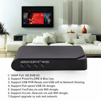 iBRAVEBOX V8 HD 1080P DVB-S2 Digital Free Satellite Web TV Receiver PVR USB WIFI