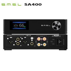 SMSL SA400 Bluetooth 5.0 Support APT-X AMP XLR/RCA/BT Input Power Amplifier
