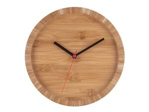 Karlsson TOM Bamboo wall clock - by Acasa Design (KA5745)