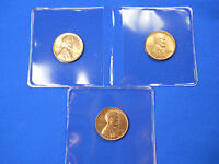 1944-P 1944-D 1944-S Lincoln Cent Wheat Penny - BU Red / RB - PDS Uncirculated