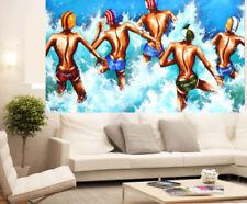Sports Multicoloured Art Paintings