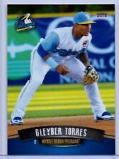GLEYBER TORRES 2016 CHOICE ROOKIE CARD #28! MYRTLE BEACH PELICANS! YANKEES!