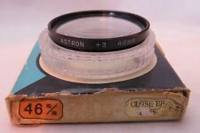 ASTRON 46 MM CLOSE-UP +3 Filter - Very Rare In This Size + Free UK Postage