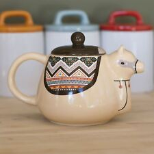 Llama Teapot Kawaii Ceramic 500ml Gifts Quirky Unique Novelty