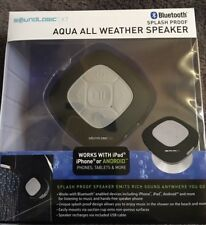 NEW - Sound Logic XT Aqua All Weather Waterproof Bluetooth Speaker Black