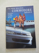 1996 Holden Commodore Series II automobile advertising booklet