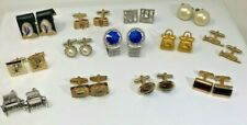 Swank Wraparound Fish Fly Trumpet Purse Car Lot of 13 Pairs Vintage Cuff Links